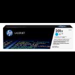 HP 201X Origineel Cyaan 1 stuk(s)