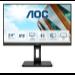 """AOC P2 24P2Q LED display 60.5 cm (23.8"""") 1920 x 1080 pixels Full HD Black"""