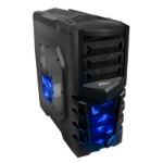 Antec GX505 Window Blue Midi-Tower Black,Blue