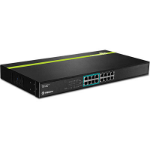 Trendnet TPE-T88G Power over Ethernet (PoE) Black network switch