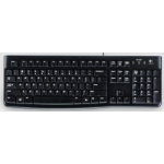Logitech K120 keyboard USB AZERTY French Black