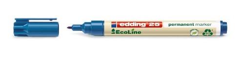 Edding 25 EcoLine permanent marker Bullet tip Blue