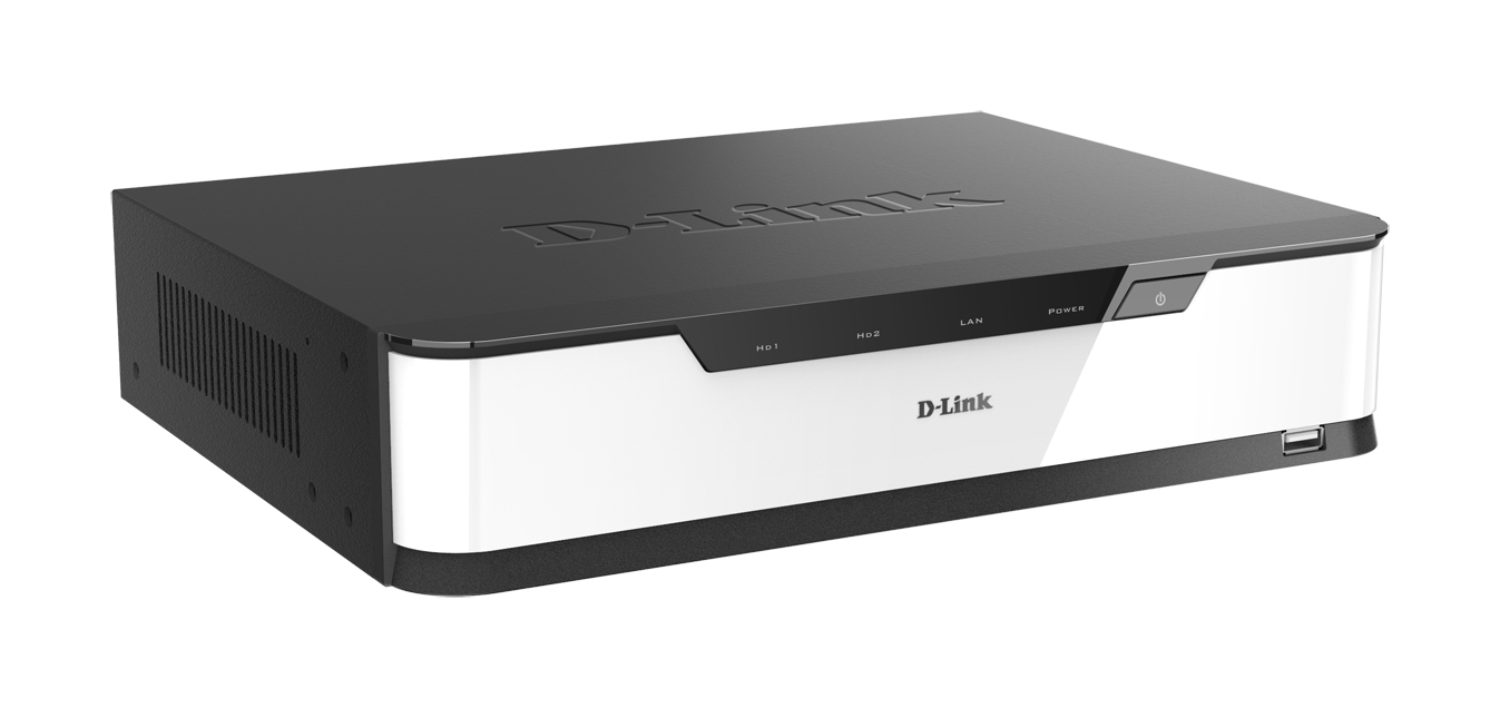 D-Link DNR-2020-04P network video recorder Black,White
