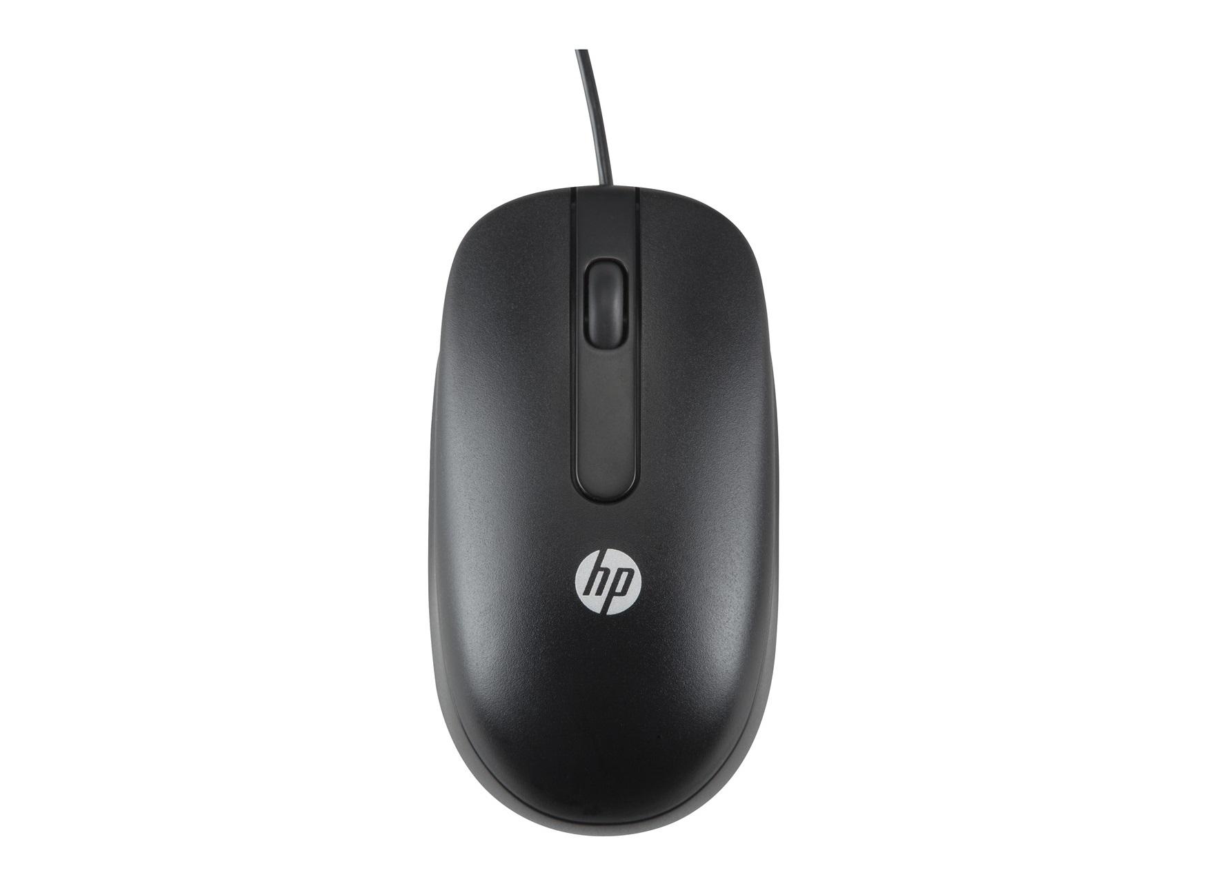 HP USB laser light optical mouse 1000 DPI Ambidextrous