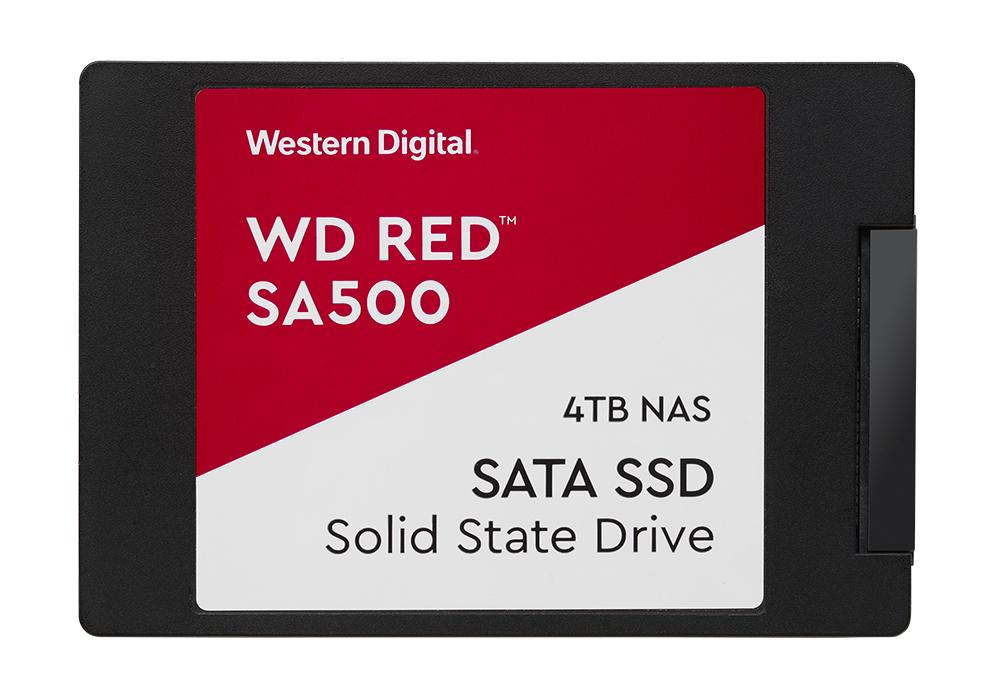 "Western Digital Red SA500 2.5"" 4000 GB Serial ATA III 3D NAND"