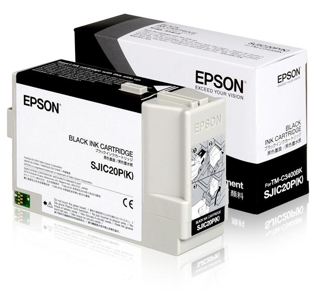 Epson Cartucho SJIC20P(K) negro