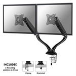 "Newstar NM-D500DBLACK 27"" Black flat panel desk mount"
