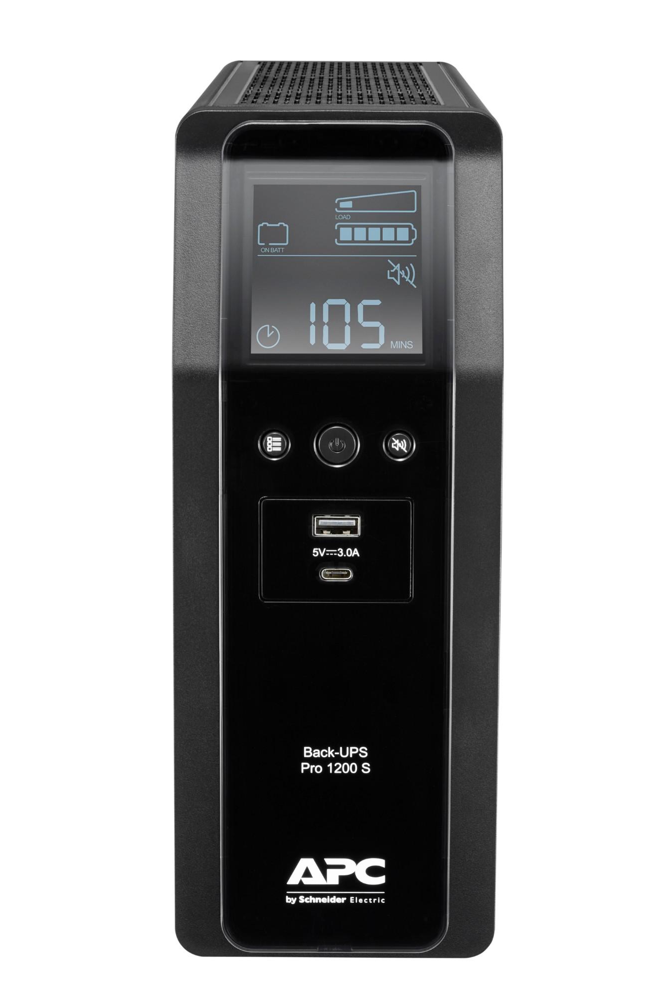 APC BACK UPS PRO BR 1200VA Line-Interactive 720 W 8 AC outlet(s)