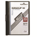 Durable Duraclip 60 report cover Black,Transparent PVC