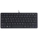 R-Go Tools R-Go Compact Keyboard, QWERTZ (DE), black, wired