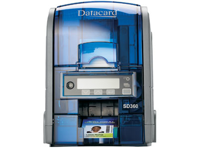 DataCard SD360 plastic kaart printer Thermische transfer kleurstofsublimatie/hars Kleur 300 x 300 DPI