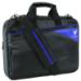 """V7 Edge Slim Toploader 13.3"""" Notebook Case black / blue"""