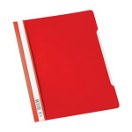 Durable CLEAR VIEW FOLDER 2570 A4 Red report cover