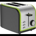 Zanussi ZST-6579-GN toaster 2 slice(s) 800 W Green, Grey