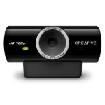 Creative Labs Live! Cam Sync HD 3MP 1280 x 720pixels USB 2.0 Black webcam
