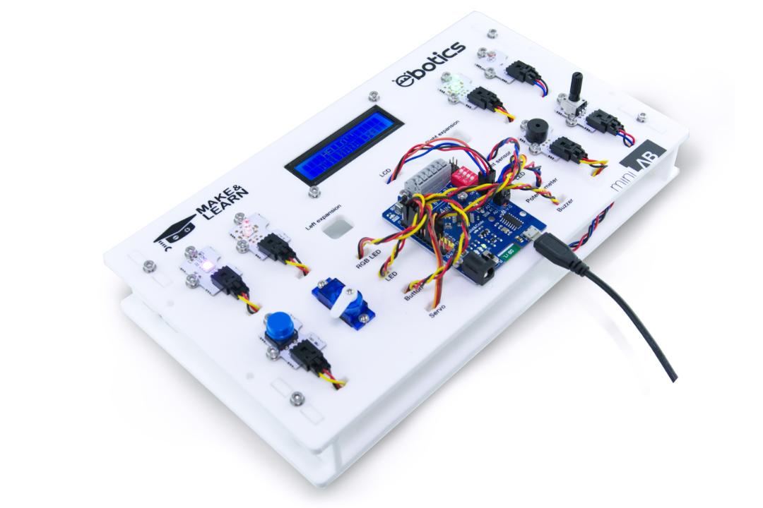 ebotics Mini Lab Programming Kit inc Controller Board Arduino Compatable