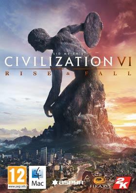 Nexway Sid Meier's Civilization VI: Rise and Fall, Mac/Linux Video game downloadable content (DLC) Mac/Linux Español