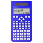 CANON F717SGABL CALCULATOR SCIENTIFIC 242 FUNCTION BLUE