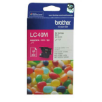 BROTHER LC-40M INKJET CARTRIDGE MAGENTA