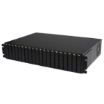 StarTech.com 20-Slot 2U Rack Mount Media Converter Chassis for ET Series 2 Fiber Media Converter network equipment chassis