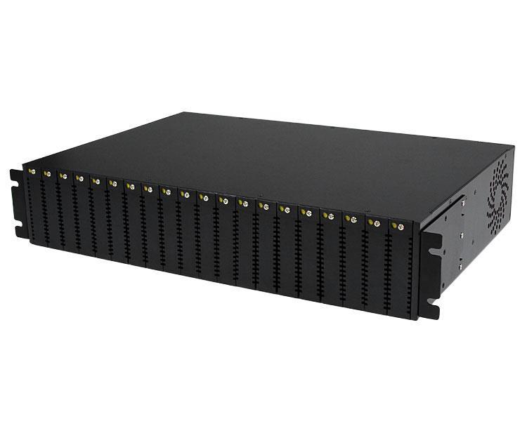 StarTech.com 20-slot 2U Behuizing Rackmontage voor ET Serie 2 Glasvezel Converter