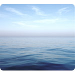 Fellowes Earth Series Mouse Pad Blue Ocean