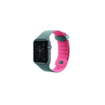 Belkin Sports Strap with Air Flow Wave Design for 38 mm Apple Watch Series 1/2 - Grey/Pink