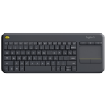Logitech K400 Plus keyboard RF Wireless Black