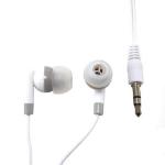 MCL CSQ-ECM/W auriculares para móvil Binaural Dentro de oído Blanco Alámbrico