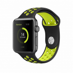 BeHello BEHPRMSWS001 smartwatch accessory Band Black, Green Silicone