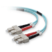 Belkin Fiber Optic Duplex Patch Cable, 2 x SC, 2 x SC, 2m