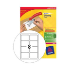 Avery L7165-500 White 4000pc(s) self-adhesive label