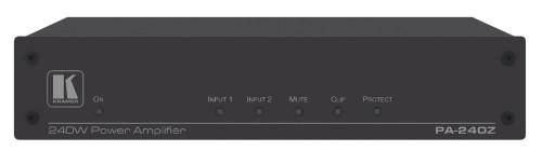 Kramer Electronics PA-240Z audio amplifier 2.0 channels Performance/stage Wired Black