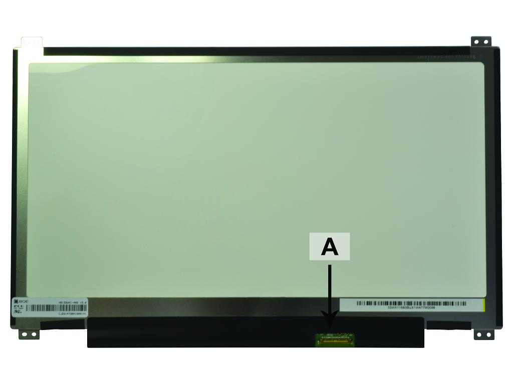 2-Power 13.3 1366x768 WXGA HD LED Matte eDP Screen