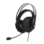 ASUS TUF Gaming H7 7.1 Gaming Headset, 53mm Driver, 3.5mm Jack (USB Adapter), Boom Mic, Virtual Surround,