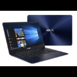 """ASUS ZenBook UX430UA-GV415T Blue Notebook 35.6 cm (14"""") 1920 x 1080 pixels 1.80 GHz 8th gen Intel® Core™ i7 i7-8550U"""
