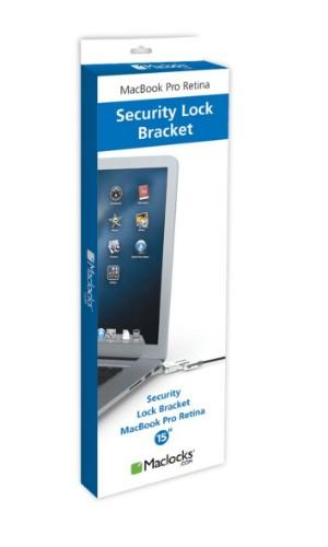 Maclocks MBPR15 BR WEDGE 1.83m Black cable lock