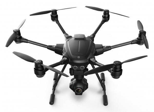 Yuneec Typhoon H 6rotors Hexacopter 12.4MP 4096 x 2160pixels 5400mAh Black camera drone