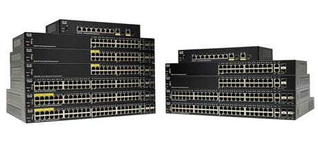 Cisco SG250-26P-K9-EU switch Gestionado L2 Gigabit Ethernet (10/100/1000) Negro Energía sobre Ethernet (PoE)
