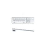 Apple MB110 USB QWERTY Italian White keyboard