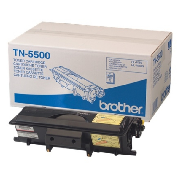 Brother TN-5500 Toner black, 12K pages @ 5% coverage