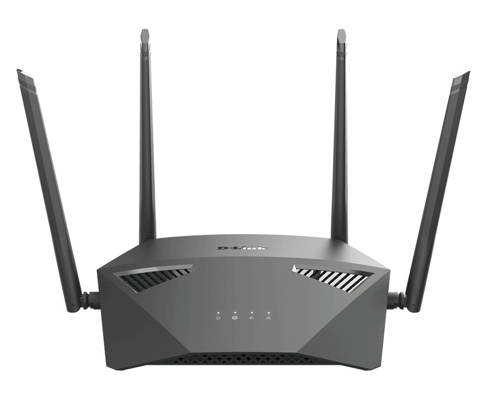 D-Link DIR-1950 router inalámbrico Doble banda (2,4 GHz / 5 GHz) Gigabit Ethernet Negro