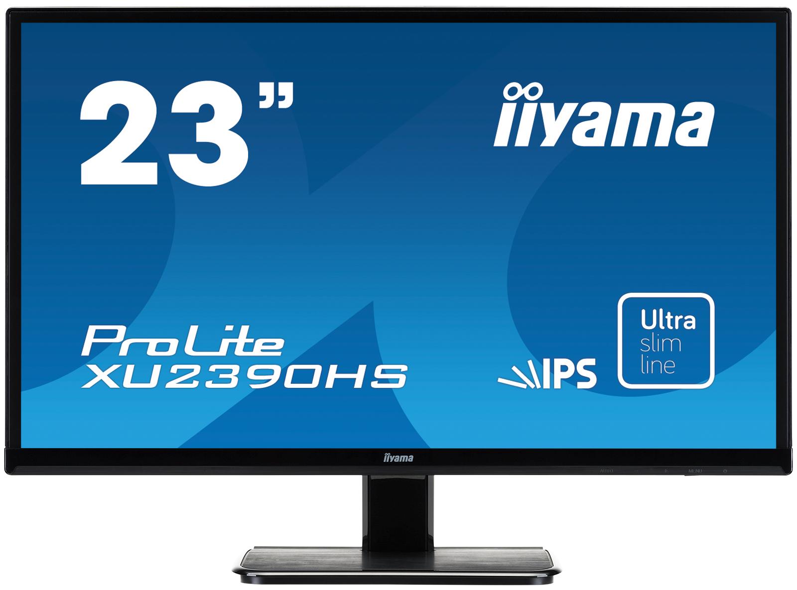 "iiyama ProLite XU2390HS 23"" Black Full HD"