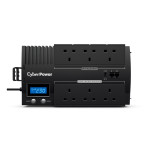 CyberPower BR700ELCD Line-Interactive 0.7 kVA 420 W 6 AC outlet(s)
