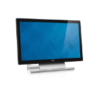 "DELL S2240T 21.5"" 1920 x 1080pixels Multi-touch Tabletop Black,Silver touch screen monitor"