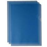 White Box WB CUT FLUSH FOLDER BLU LF80BBG100 PK100