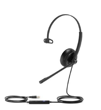 Yealink UH34 Lite Headset Head-band Black