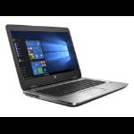 """HP ProBook 640 G2 2.3GHz i3-6100U 14"""" 1366 x 768pixels Black,Silver"""