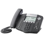 Polycom SoundPoint IP 560 Wired handset 4lines LED Black IP phone
