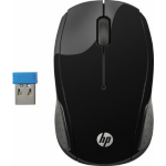 HP 200 RF Wireless Optical 1000DPI Ambidextrous Black mice